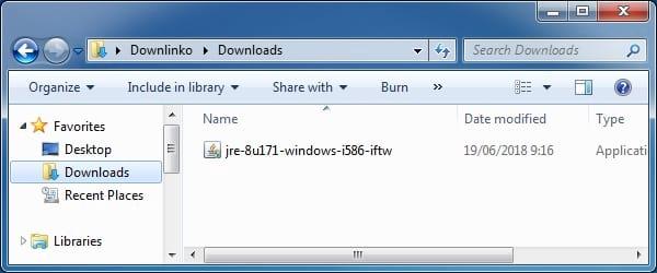 java 8 online installer