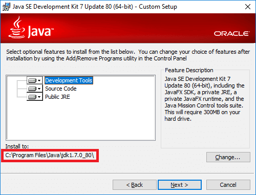 java development kit 7 for windows 10 64 bit