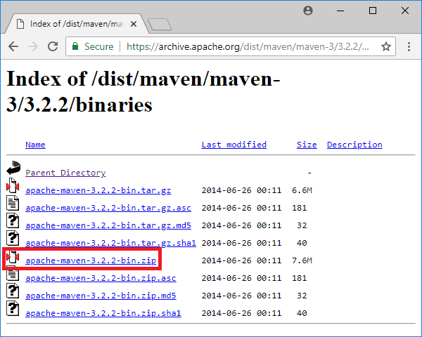 maven 3-2-2 binaries