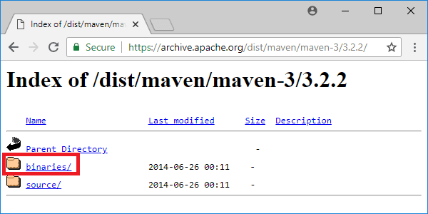 maven 3-2-2 distribution