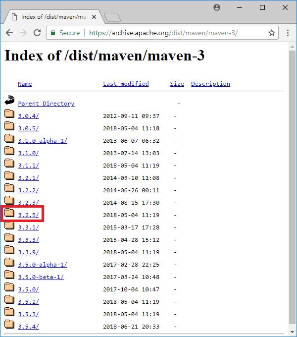 maven 3-2-5 download archive