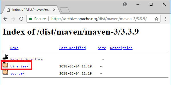 maven 3-3-9 distribution