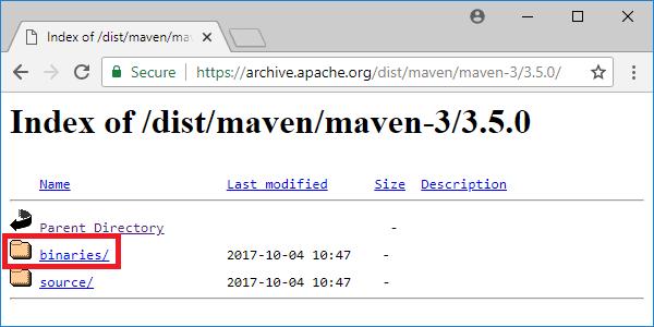 maven 3-5-0 distribution