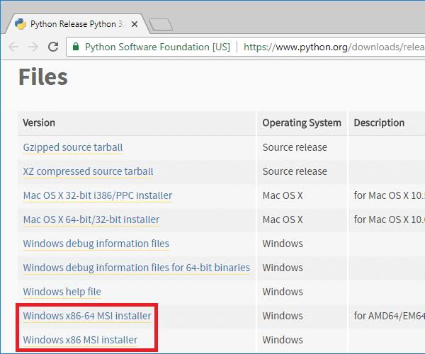python 3-4-4 windows installer