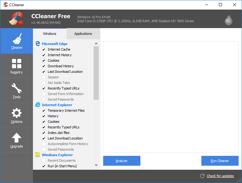ccleaner application