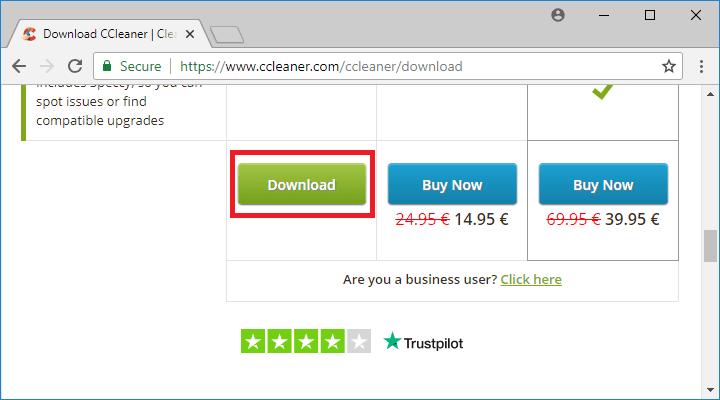 ccleaner download installer